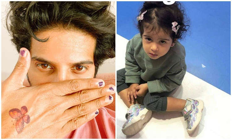 dulquer salman, dulquer salman photos, dulquer salman daughter, ദുൽഖർ സൽമാൻ, IE Malayalam, Indian express Malayalam