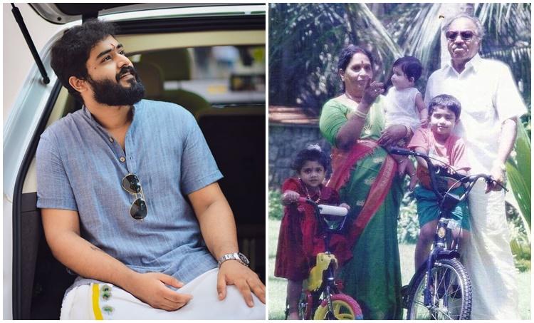 Gokul Suresh, Suresh Gopi, Suresh Gopi Parents, Suresh Gopi father, Suresh Gopi mother, Gokul suresh childhood photo, ഗോകുൽ സുരേഷ്, സുരേഷ് ഗോപി, Indian express malayalam, IE Malayalam