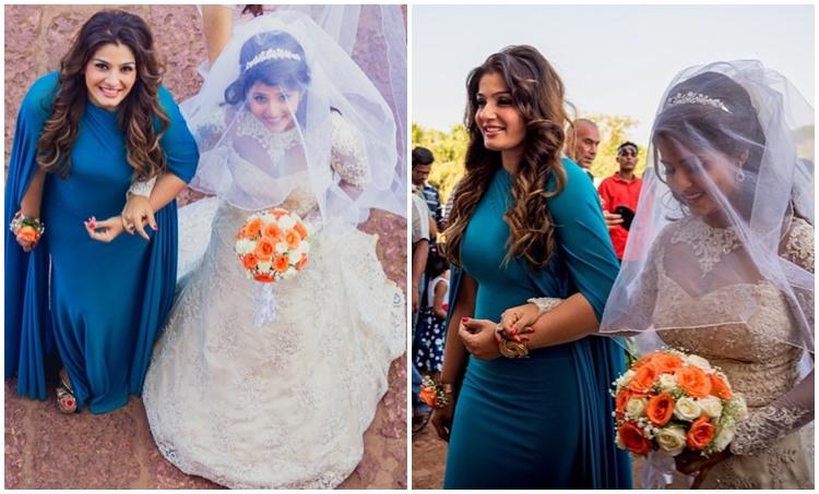 raveena tandon, രവീണ ടണ്ടൻ, raveena tandon adopted daughter, chhaya marley, raveena tandon daughter wedding, raveena tandon family, Indian express malayalam, IE Malayalam