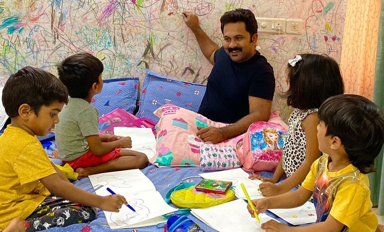 Aju Varghese, Aju Varghese kids, Aju Varghese family, അജു വർഗീസ്, Indian express malayalam, IE Malayalam