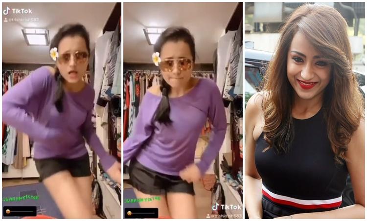 Trisha, Trisha Makes her debut in TikTok , Trisha TikTok Video Trisha, Trisha Makes her debut in TikTok , Trisha TikTok Video