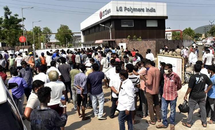 LG Polymers plant, ie malayalam