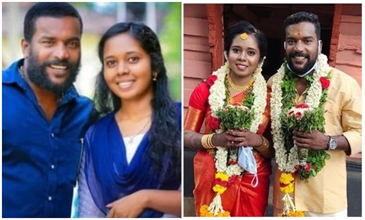 Manikandan, Manikandan achari, Manikandan achari wedding, Manikandan achari wife, മണികണ്ഠൻ ആചാരി, Indian express malayalam, IE Malayalam