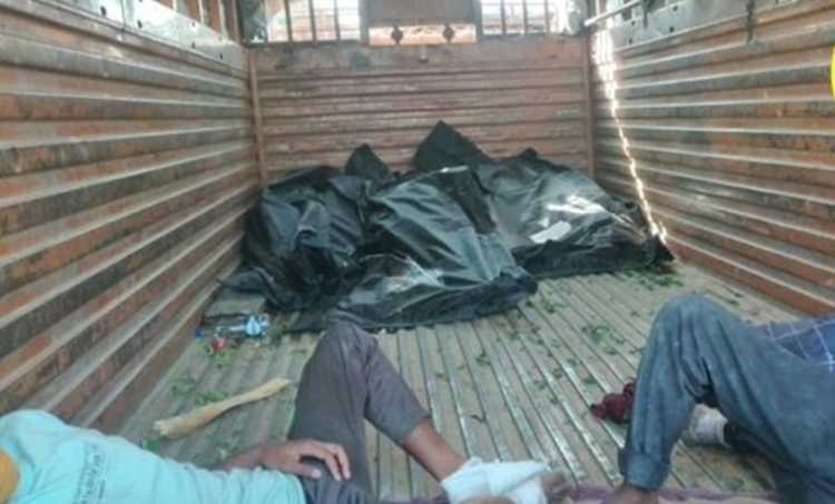 auraiya accident, death, migrants