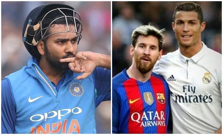 Rohit Sharma, രോഹിത് ശർമ, Cristiano Ronaldo, ക്രിസ്റ്റ്യാനോ റൊണാൾഡോ, Football fan, ഫുട്ബോൾ ആരാധകൻ, Cricketer, IE Malayalam, ഐഇ മലയാളം