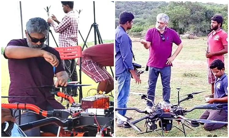 Ajith, Ajith drone technology