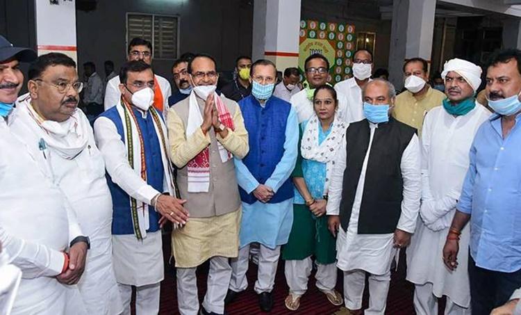 rajya sabha elections, madhya pradesh, madhya pradesh rajya sabha elections, BJP, Congress, Indian Express