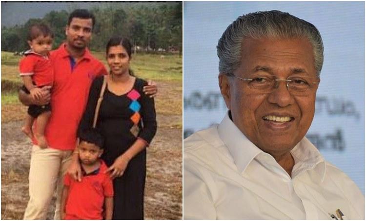 sister lini family pinarayi vijayan