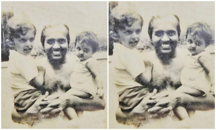 manju warrier madhu warrier childhood photo