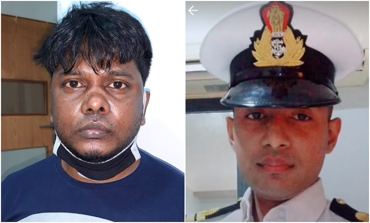 indian navy, ഇന്ത്യന് നാവികസേന, impersonation, ആള്മാറാട്ടം, kerala police, കേരള പൊലീസ്, arrest, അറസ്റ്റ്,native of wes