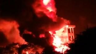Blast In Visakhapatanam,വിശാഖപട്ടണത്ത് വൻ പൊട്ടിത്തെറി, iemalayalam, ഐഇ മലയാളം