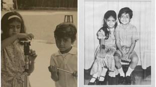 Abhishek Bachchan, shweta bachchan, Abhishek Bachchan shweta bachchan childhood photos