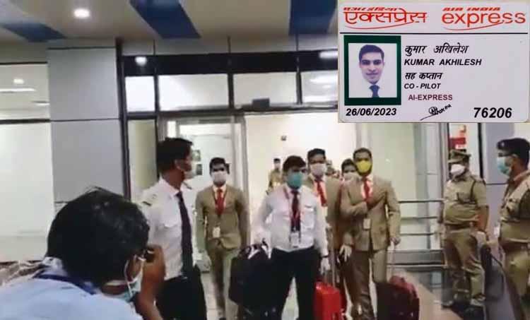 captain akhilesh kumar, akhilesh kumar pilot, air india express pilot, air india crash,air india kerala accident,kerala plane crash air india kozhikode crash live,