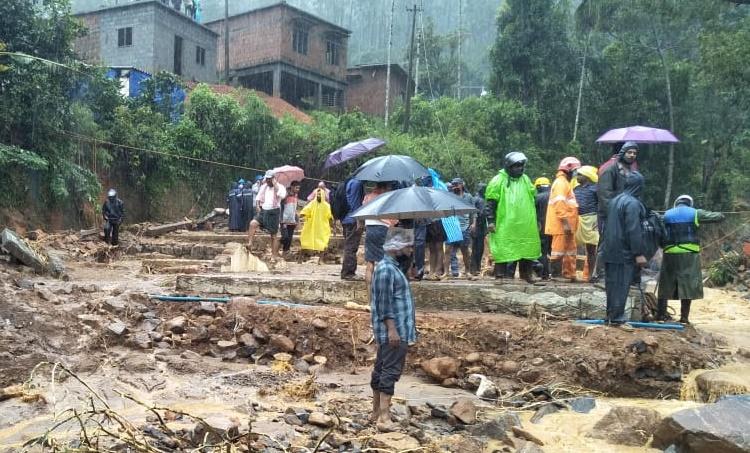 Wayanad Heavy Rain Kerala Weather