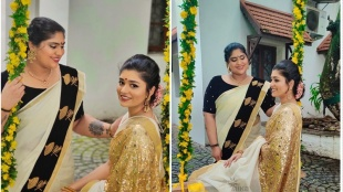suresh gopi daughters, bhagya suresh, bhavni suresh