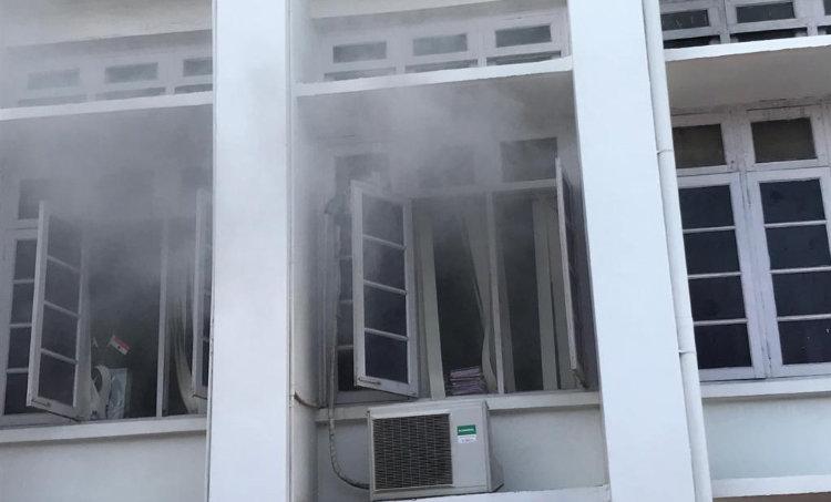Thiruvananthapuram secretariat fire, secretariat fire, secretariat, fire, തിരുവനന്തപുരം, സെക്രട്ടേറിയേറ്റ്, തീപ്പിടിത്തം, ie malayalam, ഐഇ മലയാളം