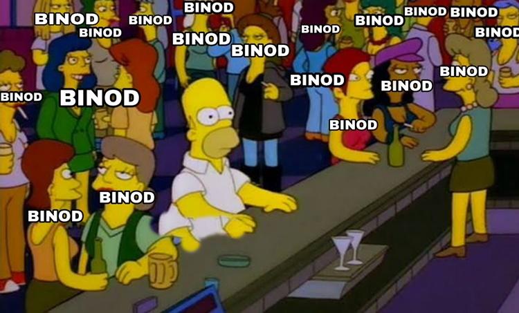 binod, binod memes, binod tharu, slayy point binod tharu comment, slayy point youtube comment garbage video, viral news, twitter trends, binod memes explained, latest memes, trending news, indian express