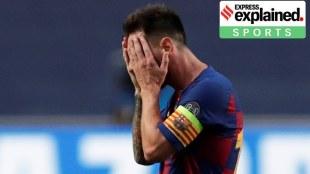 lionel messi barcelona,ലയണല് മെസ്സി ബാഴ്സലോണ, messi to leave barcelona, മെസ്സി ബാഴ്സലോണ വിടുന്നു, barcelona champions league defeat, ബാഴ്സലോണ ചാമ്പ്യന്സ് ലീഗ് തോല്വി,bayern munich, ബയണ് മ്യൂണിക്ക്, barcelona defence, ബാഴ്സലോണ പ്രതിരോധം, barcelona, barcelona football, ബാഴ്സലോണ, iemalayalam, ഐഇമലയാളം