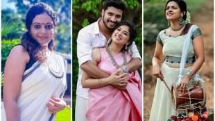 onam 2020, ഓണം 2020, serial artist, anchor jeeva, aswathy sreekanth, uma nair vanambadi, ഹാപ്പി ഓണം