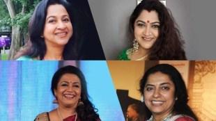Poornima Bhagyaraj, Suhasini Maniratnam, Radhika Sharathkumar, Khushbu, പൂർണിമ ഭാഗ്യരാജ്, ഖുശ്ബു, സുഹാസിനി മണിരത്നം, രാധിക ശരത്കുമാർ, ഖുശ്ബു