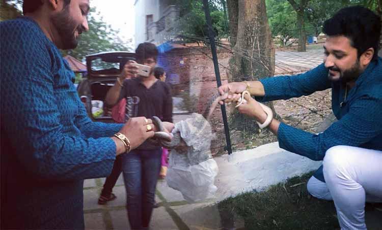 Vanambadi, Vanambadi serial, Vanambadi serial latest episode, Vanambadi serial latest, Vanambadi today episode, Vanambadi yesterday episode, Vanambadi latest, Vanambadi new episode, Vanambadi episode, Vanambadi youtube, Sai Kiran, Vanambadi serial Sai Kiran, Sai kiran photos, Vanambadi serial fame Sai Kiran hobbies, Sai kiran snake show, സായ് കിരൺ, വാനമ്പാടി, Indian express malayalam, IE malayalam