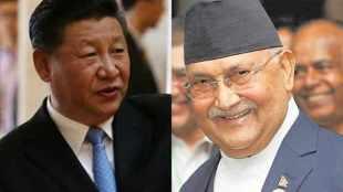china nepal, kp oli, nepal pm, china and nepal, xi jinping, indian express, galwan, ladakh