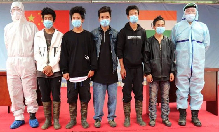 missing men return to arunachal from china, arunachal missing men in china, missing men return from china, china arunachal pla, arunachal news, indian china border news, ie malayalam