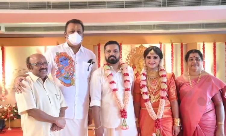 Actor Kochu Preman son got married