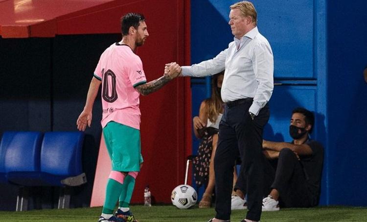 Messi Barcelona Koeman