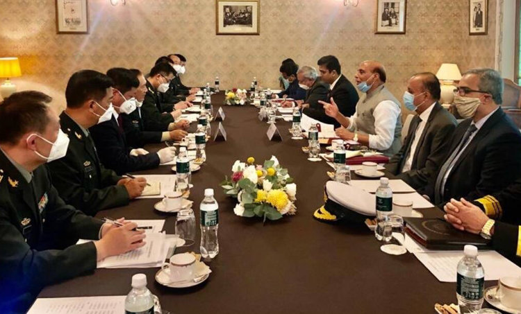 rajnath singh, india china border, ladakh border news, chushul border news, shanghai cooperation organisation, Gen. Wei Fenghe, moscow shanghai cooperation, moscow defence ministers meeting, ie malayalam