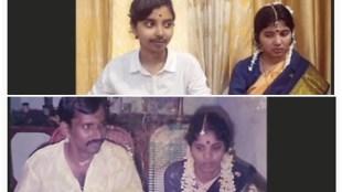 Recreating parents wedding album, viral video