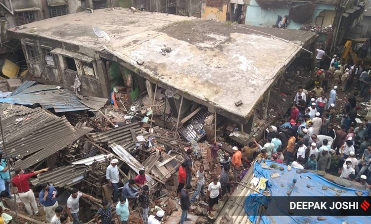 bhiwandi building collapse, bhiwandi building collapse death toll, bhiwandi building collapse news, bhiwandi building collapse injured, thane building collapse