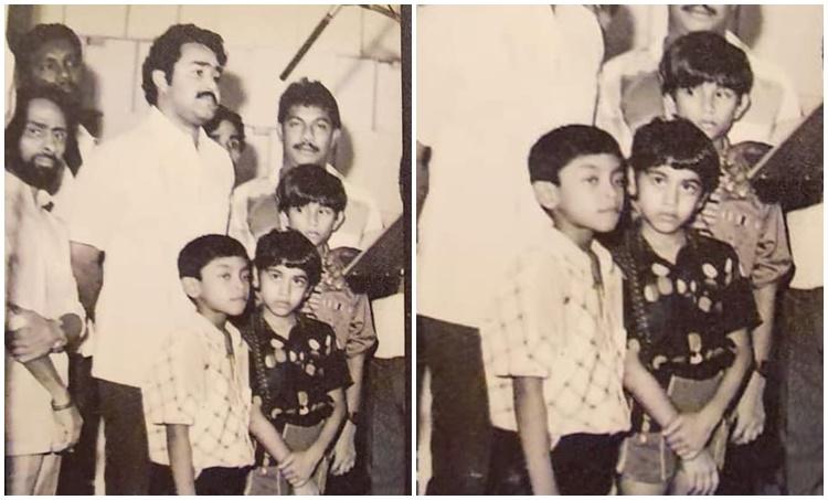 Vidhu Prathap, Vidhu Prathap childhood photo
