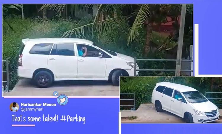 parallel parking, good driving skills, parking skills, smooth car parking viral videos, trending, indian express, indian express news