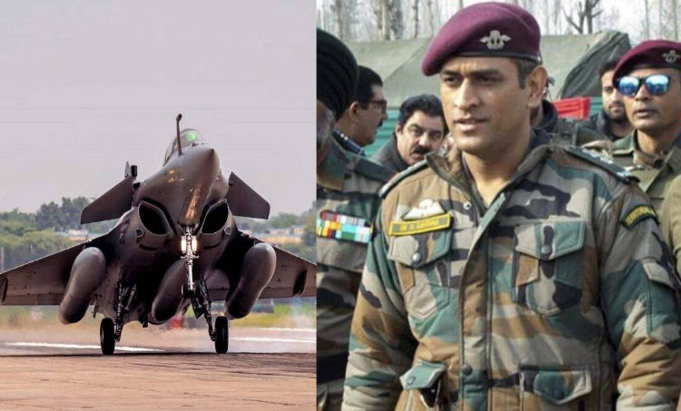 ms dhoni, rafale jets, dhoni rafale, iaf, rafael jet dhoni, dhoni indian air force, indian army, mahendra singh dhoni, ipl 2020, ധോണി, ie malayalam