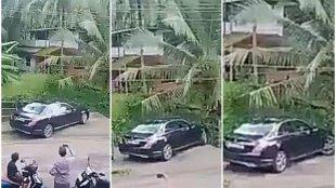 kerala viral video, car parking video, car parking video imitation, biju driver, car parking viral video, innova video, ie malayalam