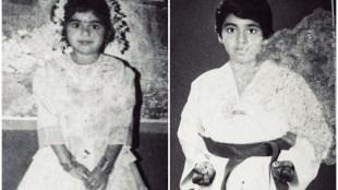 Nimisha Sajayan, നിമിഷ സജയൻ, ബാല്യകാല ചിത്രം,Nimisha childhood photo, thondimuthalum driksakshiyum, chola, oru kuprasidha payyan, iemalayalam