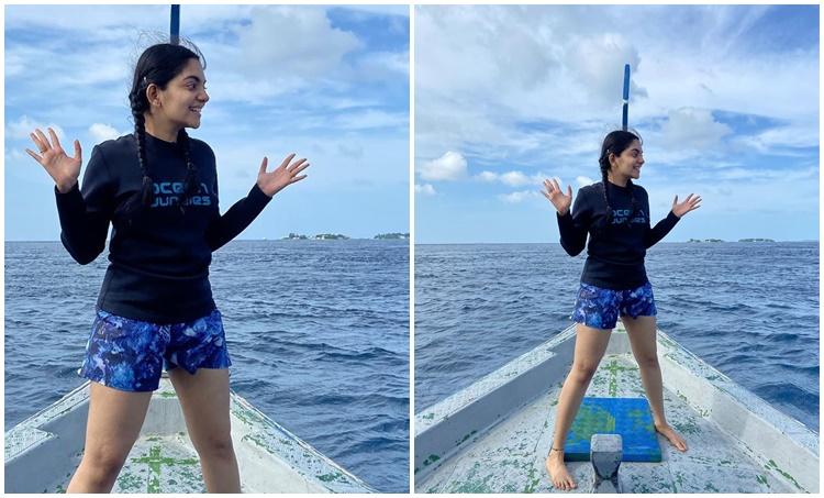 Ahaana Krishna, Ahaana Krishna photos, Ahaana Krishna videos, Scuba Jump experience , Ahaana Krishna instagram