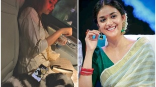 Keerthy Suresh, കീർത്തി സുരേഷ്, Keerthy Suresh quarantine, Keerthy Suresh photos, Indian express malayalam, IE malayalam