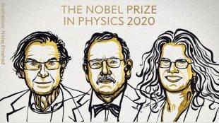 nobel prize, nobel prize physics, black holes, einstein, roger penrose, reinhard genzel, andrea ghez, indian express