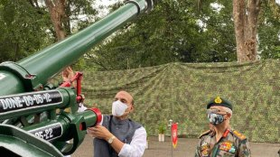Rajnath Singh, shastra puja, china border, lac, rajnath singh china, china rajnath singh, rajnath singh shastra puja, india news, ie malayalam
