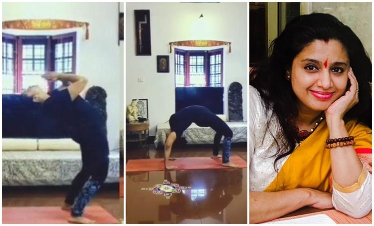 Samyuktha Varma, Samyuktha Varma video