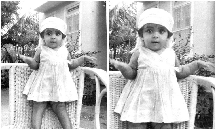 Sujatha childhood photo, singer sujatha