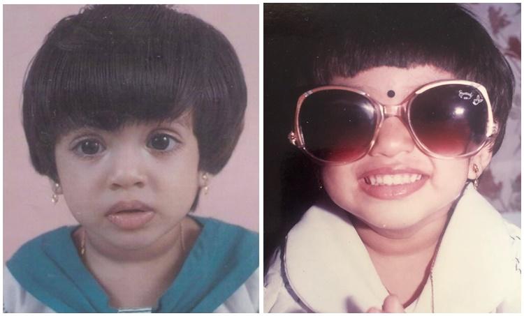veena nadakumar, veena nadakumar childhood photos, veena nadakumar photos