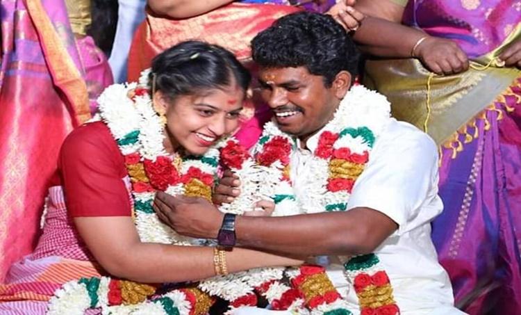 AIADMK Kallakurichi MLA, Dalit AIADMK MLA, Kallakurichi MLA A Prabhu, Kallakurichi MLA Prabhu Marriage, Kallakurichi MLA Wife Father Suicide, AIADMK MLA Dalit Brahmin Marriage, Chennai News, Tamil Nadu News, Indian Express News
