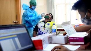 covid, covid-19, corona, covid test, test, rapid test, swab, sample, covid sample, covid centre, covid treatment, firstline treatment, screening, ie malayalam