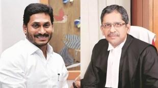jagan Mohan reddy, andhra pradesh cm, s a bobde, N V Ramana, andhra pradesh high court influence, indian express