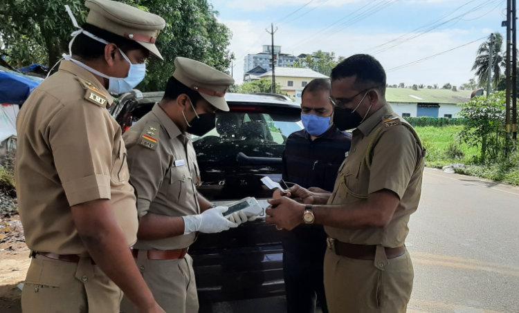 motor vehicle department. mvd checking. traffic violation. fine, e challan,
