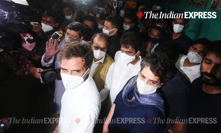 Rahul Gandhi, രാഹുൽ ഗാന്ധി, Hathras Rape Case, ഹത്രാസ് പീഡനക്കേസ്, Rahul Congress, കോൺഗ്രസ് രാഹുൽ ഗാന്ധി, IE Malayalam, ഐഇ മലയാളം