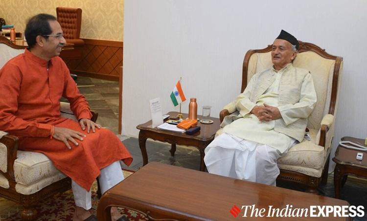 Uddhav Thackeray, Bhagat Singh Koshyari, Maharashtra Covid-19, Koshyari Thackeray, Indian Express news